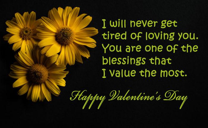 romantic valentine day status messages