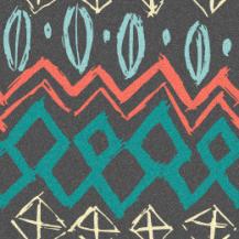teal salmon pattern