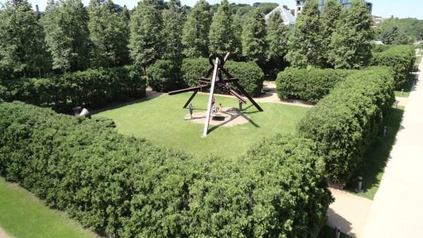 Walker Sculpture Garden Uh. Yeah