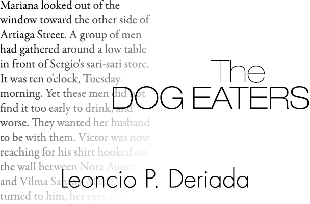 The dog eaters. Characters In Dog Eaters By Deriada Free