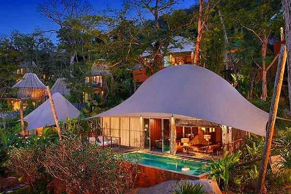 Tent Pool Villa1