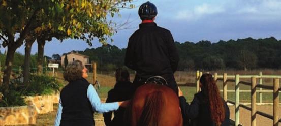 Terapias asistidas con caballos: Hipoterapia