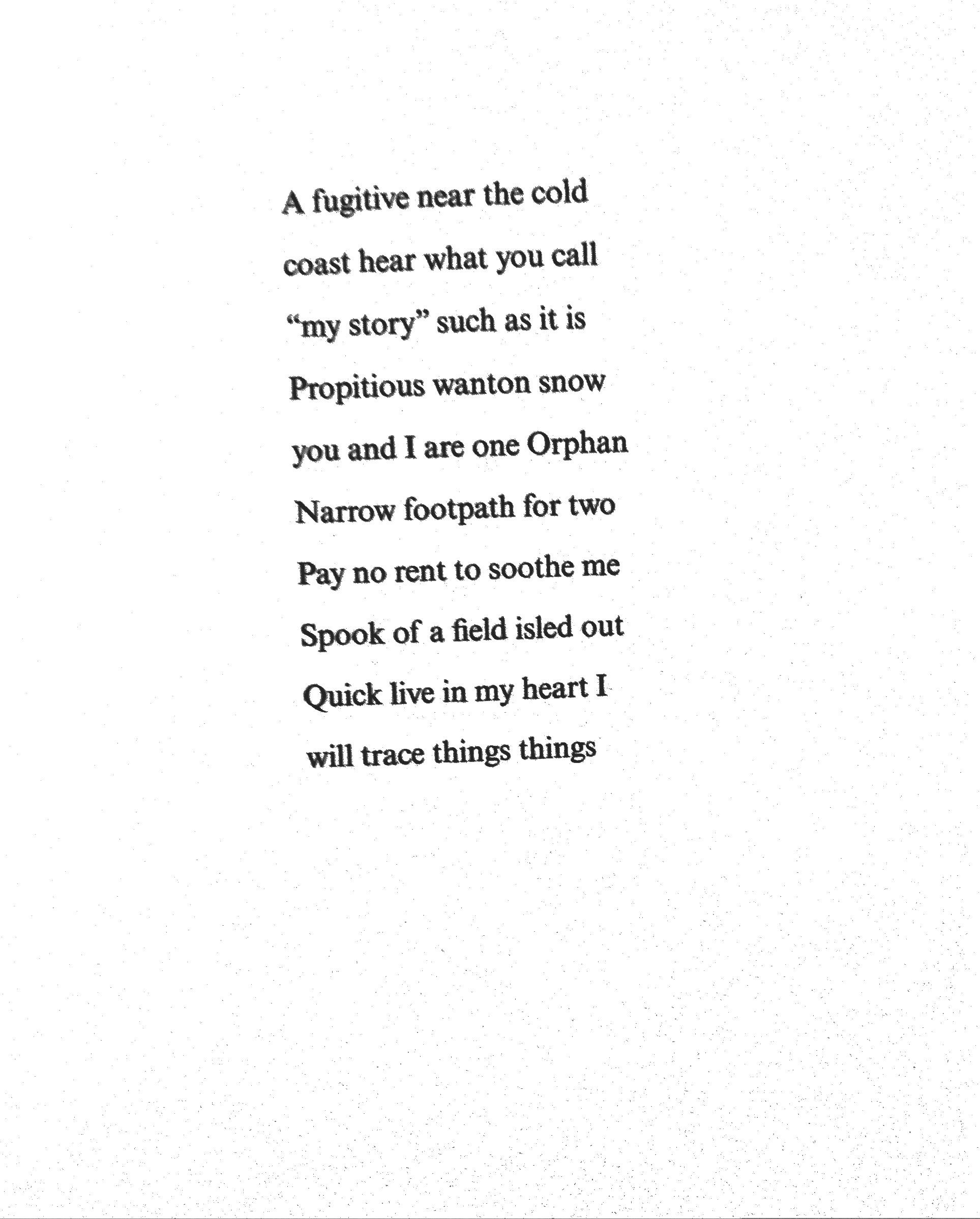 lyric poem examples Gallery