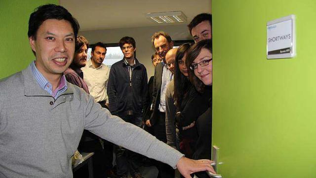 «On a passé une matinée chez Shortways, start-up lavalloise» par Ouest France