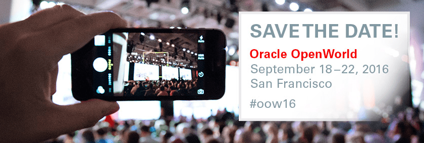 Shortways at Oracle OpenWorld!