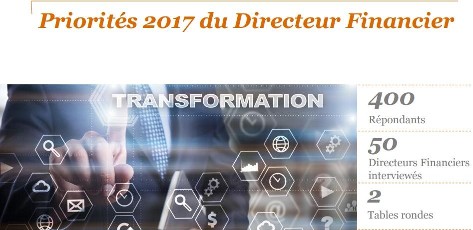 Transformation de la Fonction Finance: un enjeu pour les Directeurs Financiers en 2017