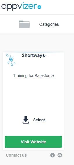 shortways training salesforce