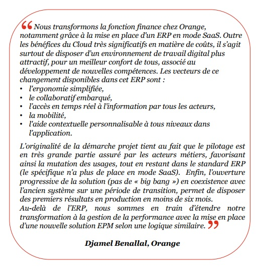 Djamel benallal etude pwc transformation finance