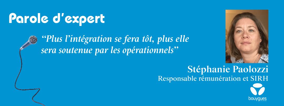 Parole d'expert – Interview de Stéphanie Paolozzi, Responsable Rémunération et SIRH chez Bouygues Telecom