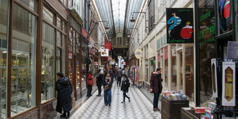 The First Parisian Malls: Five Covered Passages Not to Be Missed in The City Of Light