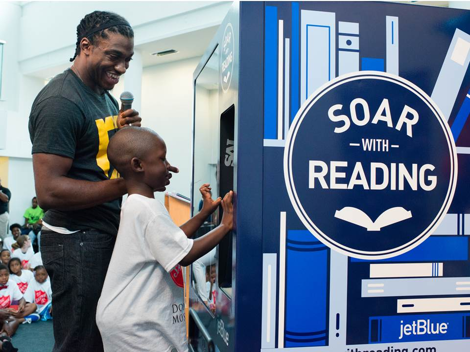 Image result for jetblue soar with reading