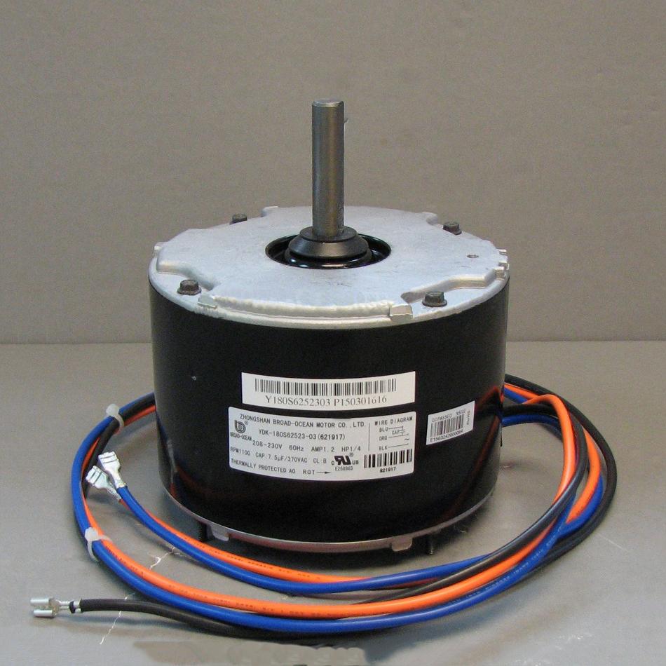 medium resolution of nordyne condenser fan motor 621917