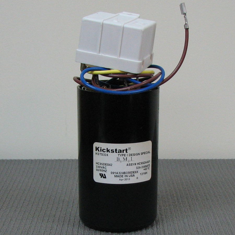hight resolution of carrier start relay and capacitor assembly hc95da401
