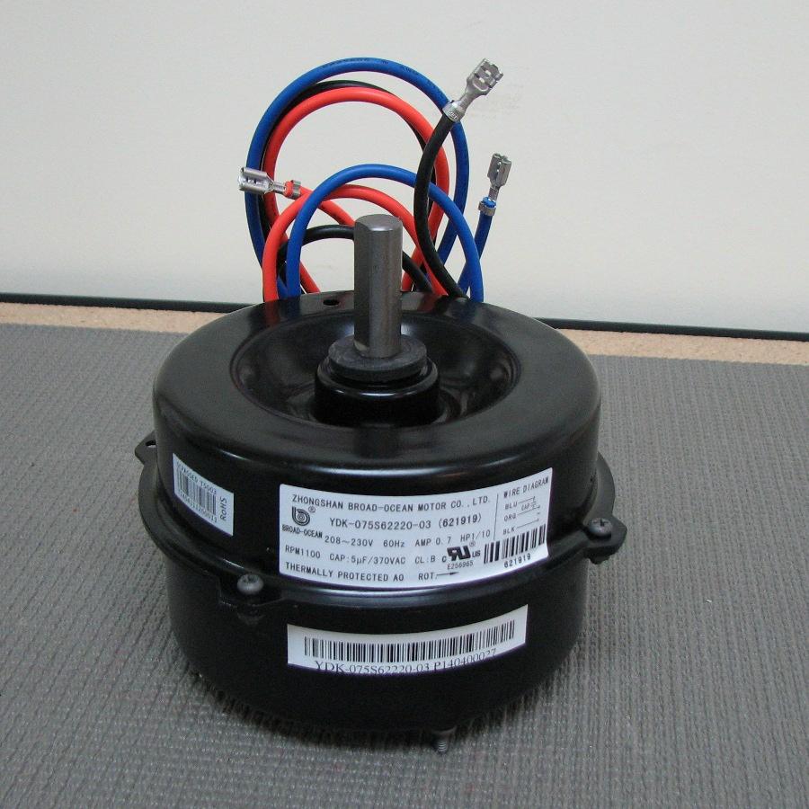 medium resolution of nordyne condenser fan motor 621919