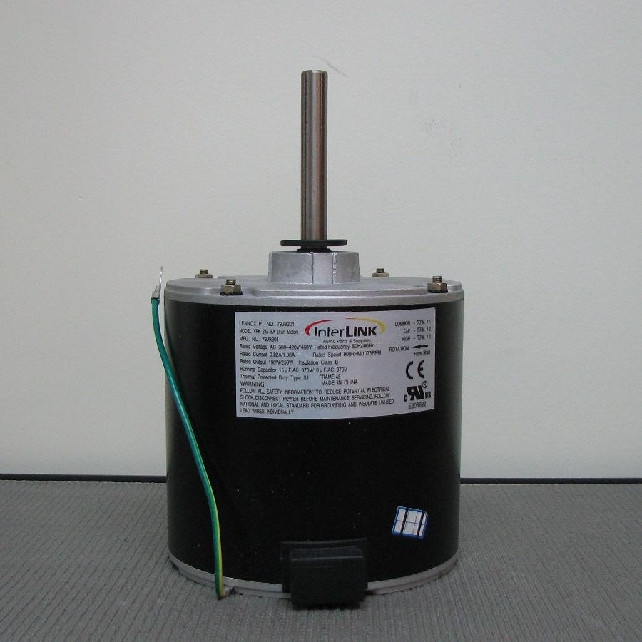 medium resolution of lennox condenser fan motor 14y70