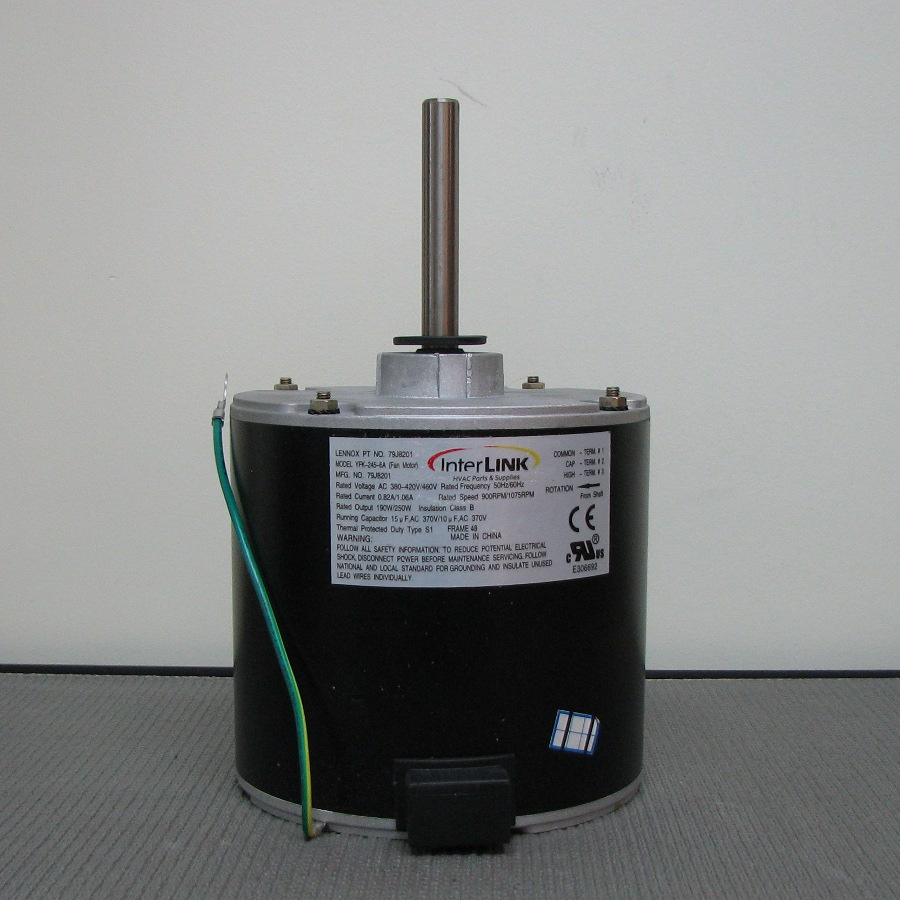 hight resolution of lennox condenser fan motor 14y70