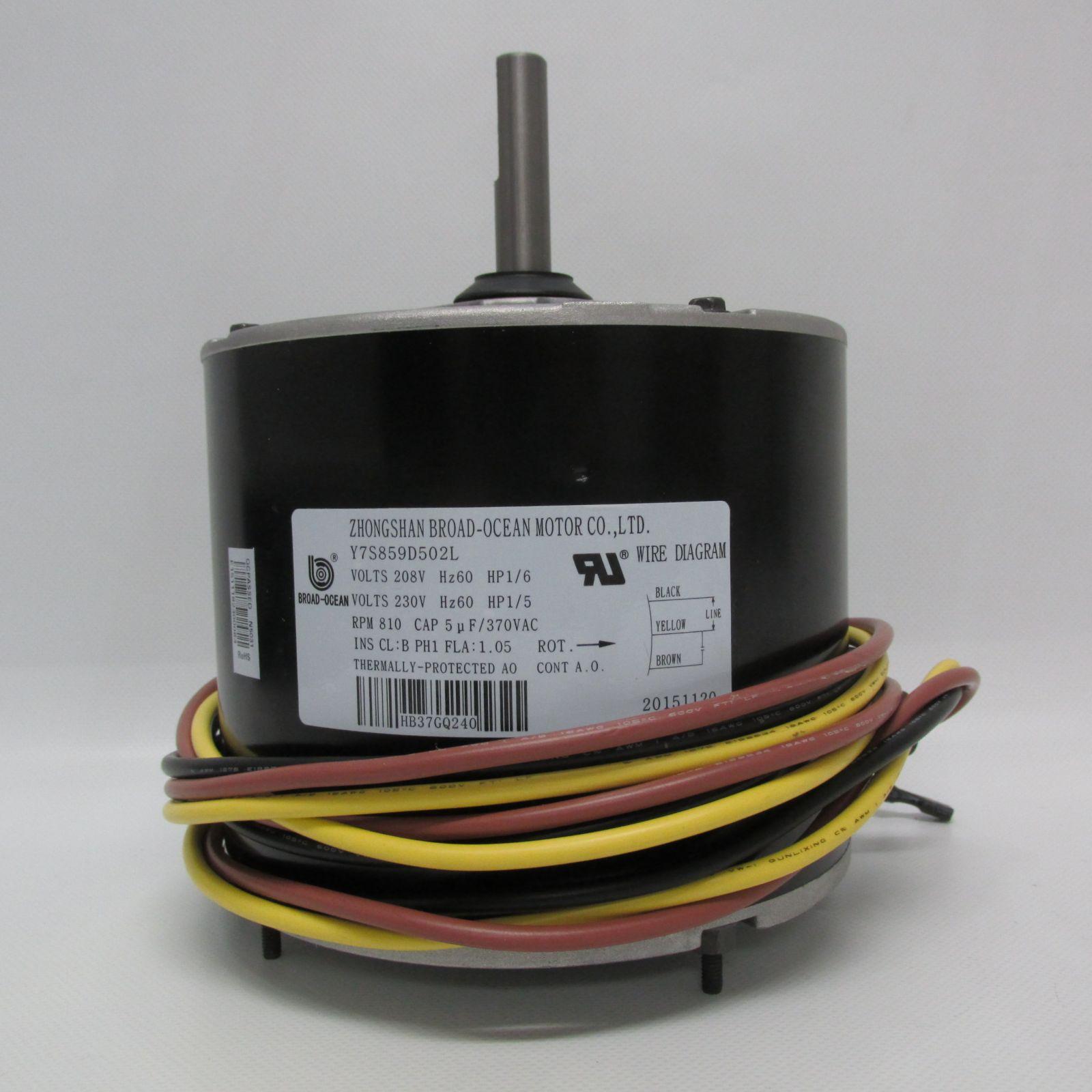hight resolution of carrier condenser fan motor hb37gq240