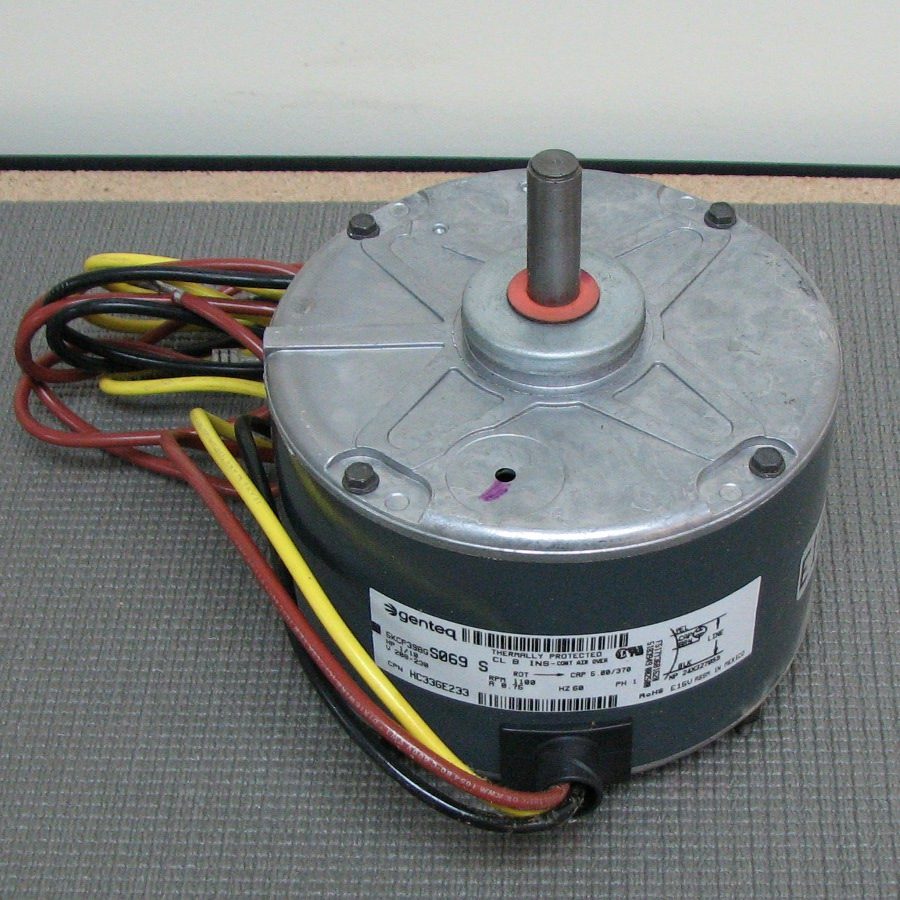 medium resolution of carrier condenser fan motor hc33ge233