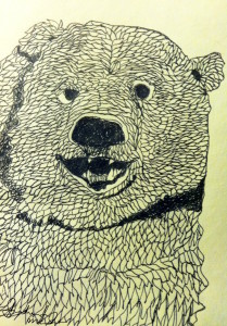 Drawing a Day: Happy Bear