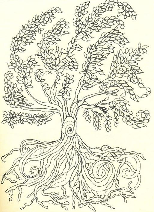 roots with tree by shoshanah marohn 2016