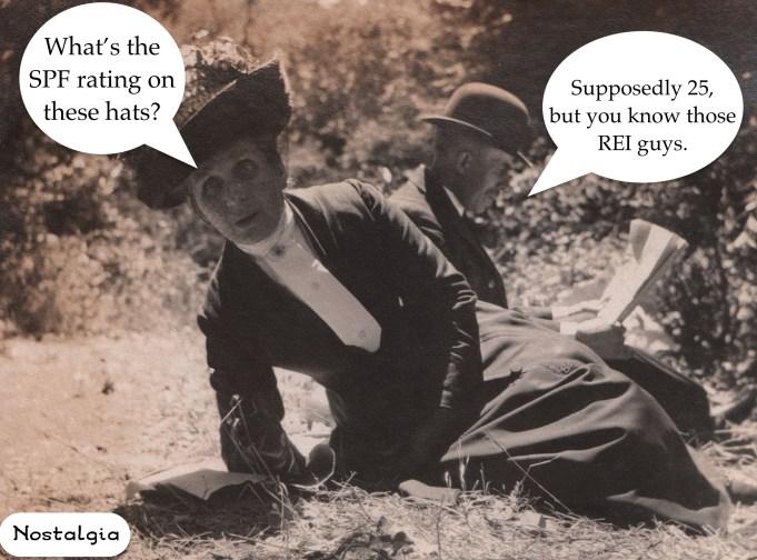 Nostalgia SPF Hat