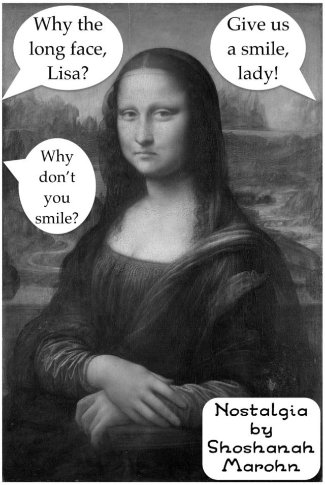 Mona Lisa Frown
