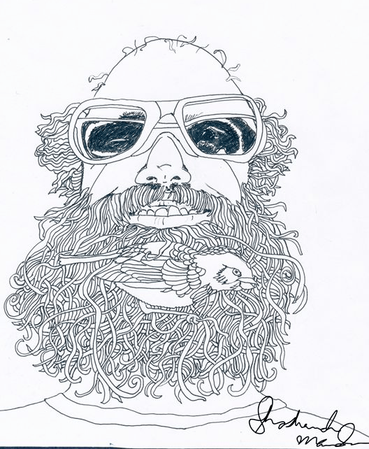 Bird in Beard by Shoshanah Marohn