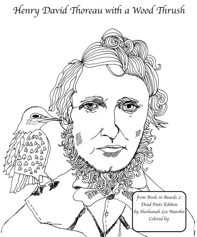 Henry David Thoreau by Shoshanah Marohn