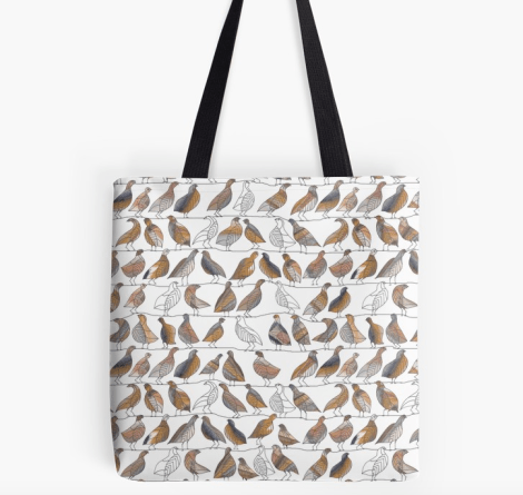 bird on a wire tote