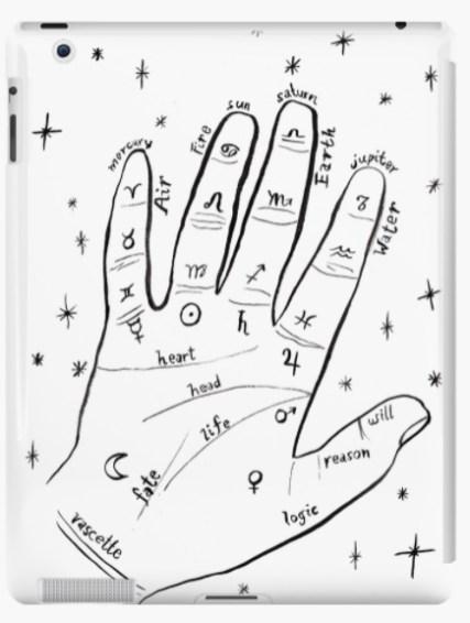 mystical hand ipad RB
