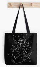 mystical hand tote RB