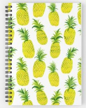 pineapple party notebook RB