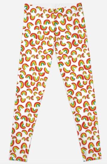 rainbow leggings RB