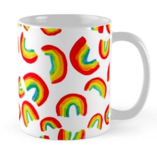 rainbow mug RB