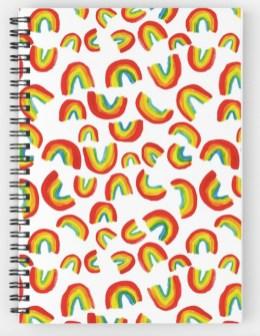 rainbow notebook RB