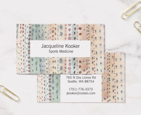 spots business card Z