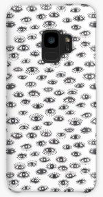 winking eye samsung phone case