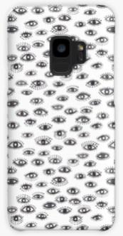 winking eye samsung phone case
