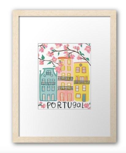 portugal wall art