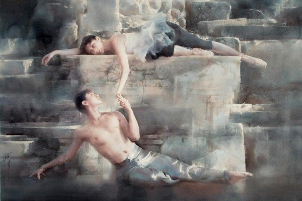 """""""Inspiratia lui Efes"""", Liu Yi"""