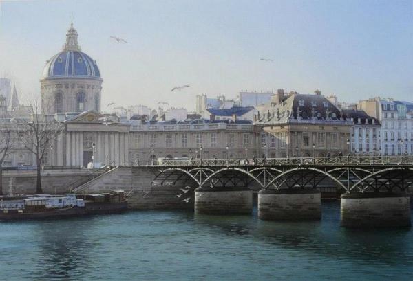 """Priveliste spre Academia Franceza de Arte"", Thierry Duval"