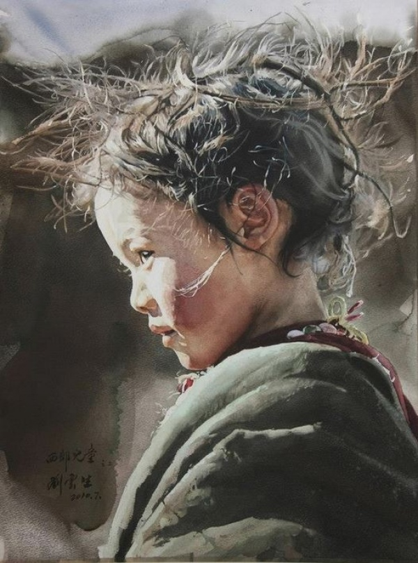 """""""Un copil din Vest"""", Liu Yun Sheng"""