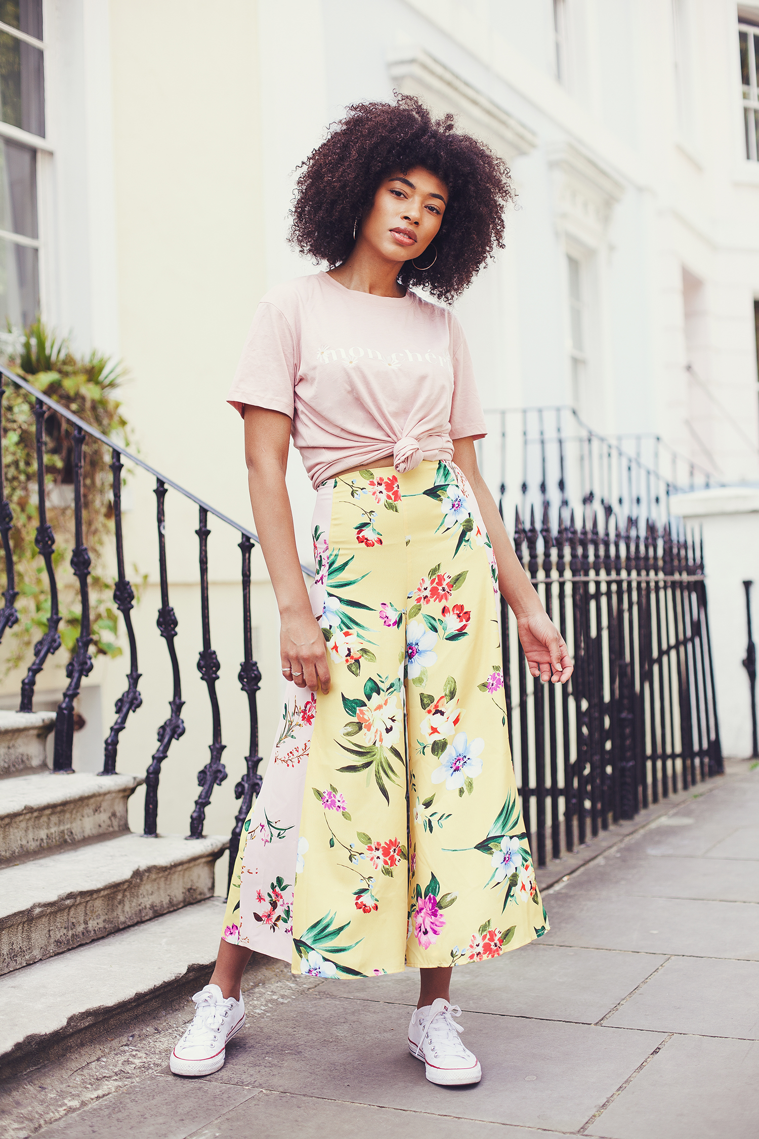 Portrait of fashion blogger Lesley in Notting Hill by Ailera Stone