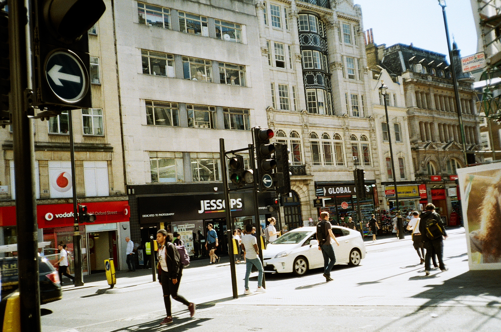 oxford street 35mm film diary by Ailera Stone