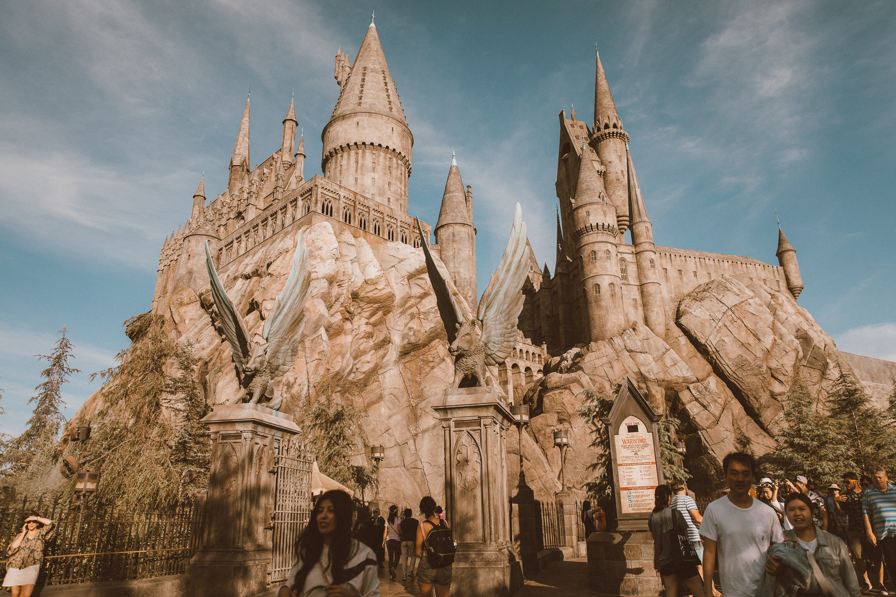 California Road trip Harry Potter world by photographer Ailera Stone