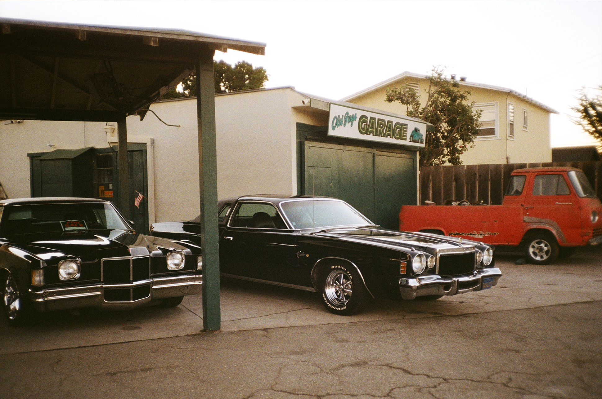 California 35mm film diary by London based photographer Ailera Stone