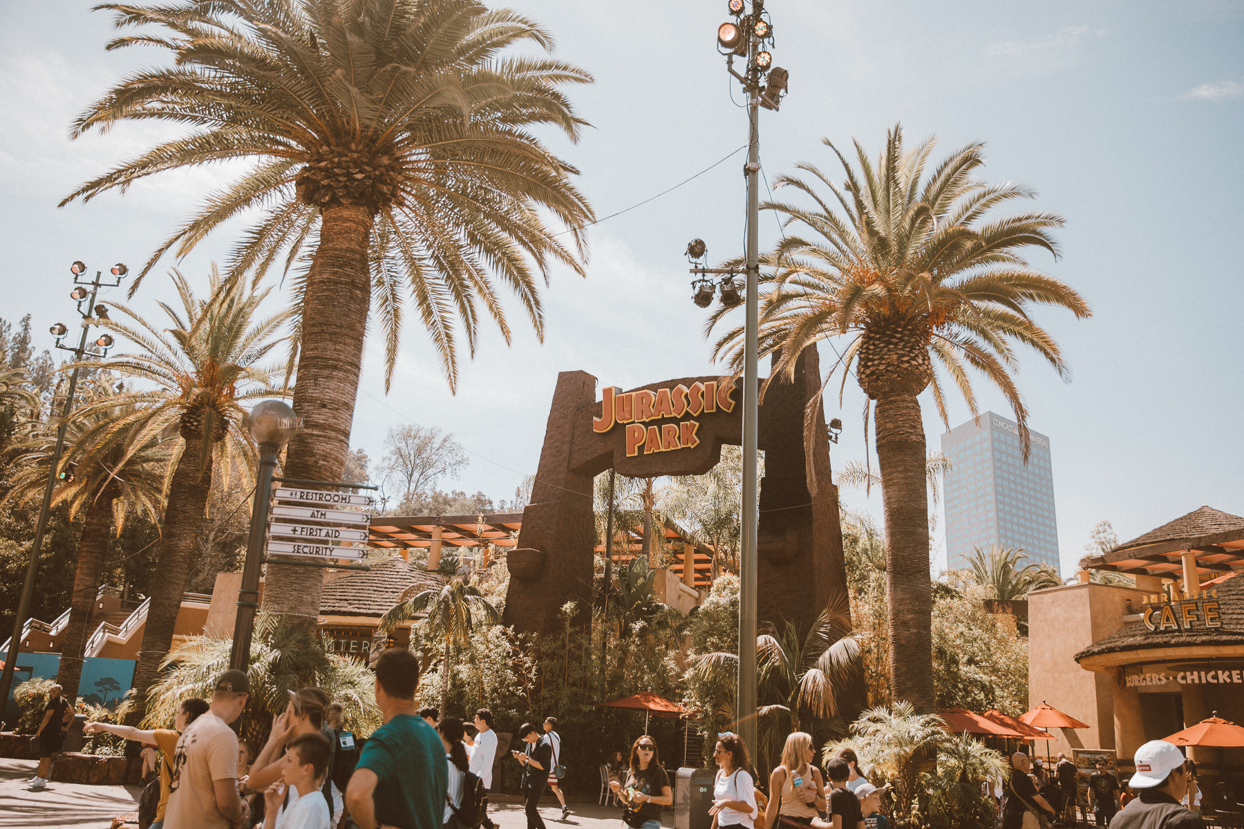 California Universal Studios by photographer Ailera Stone