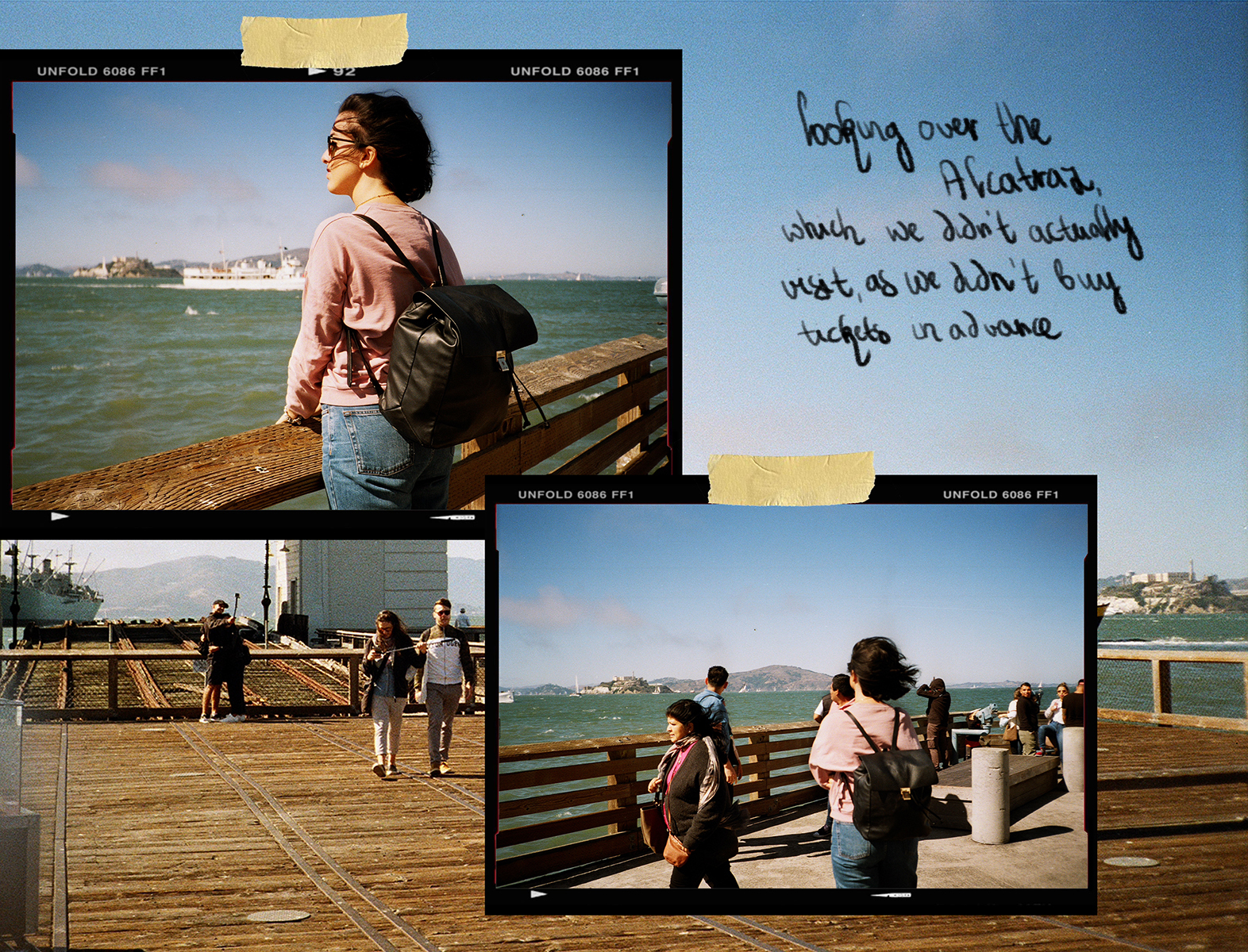 California San Francisco 35mm film diary by London based photographer Ailera Stone