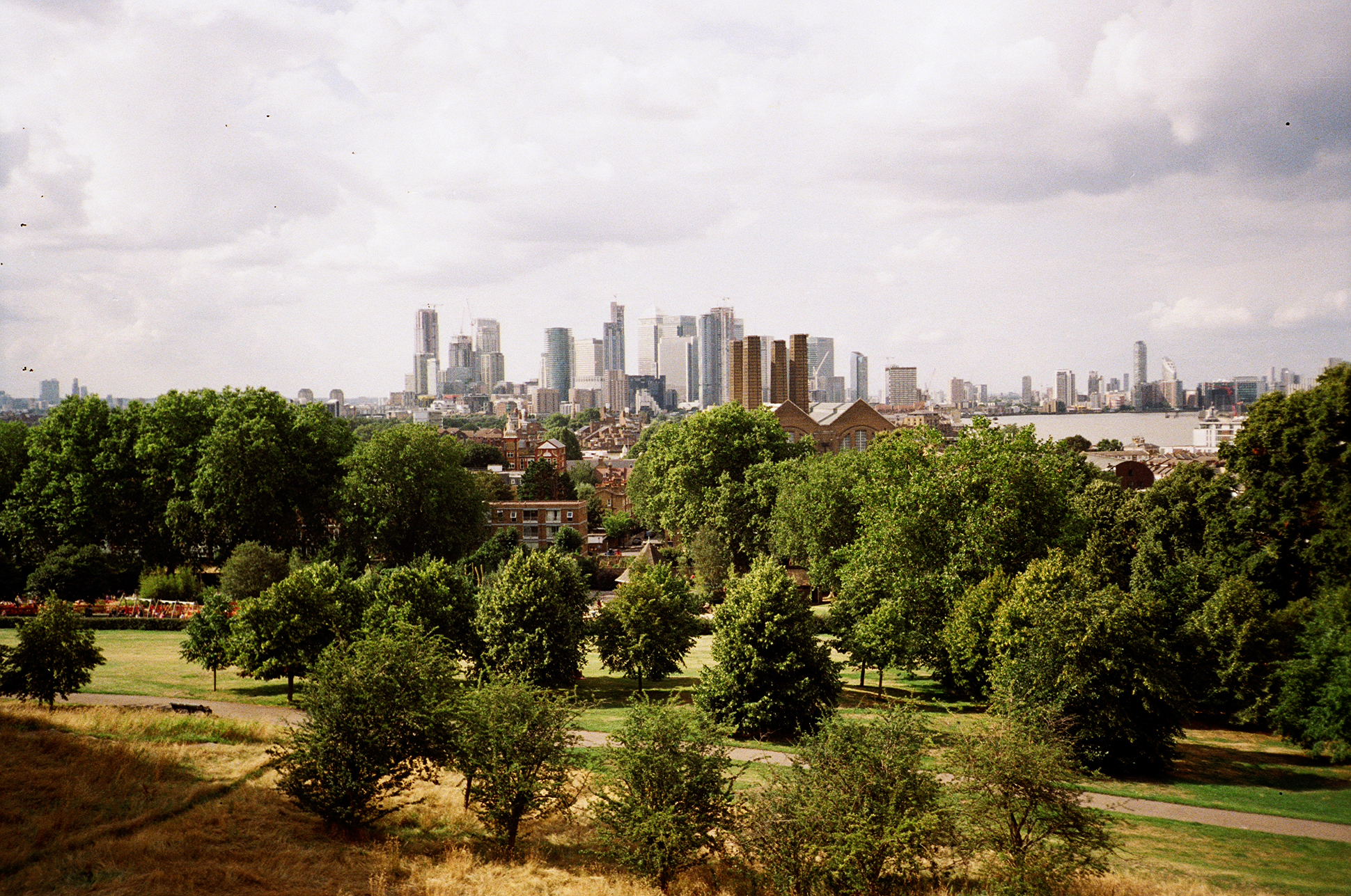 Greenwich view 35mm film diary by London based photographer Ailera Stone