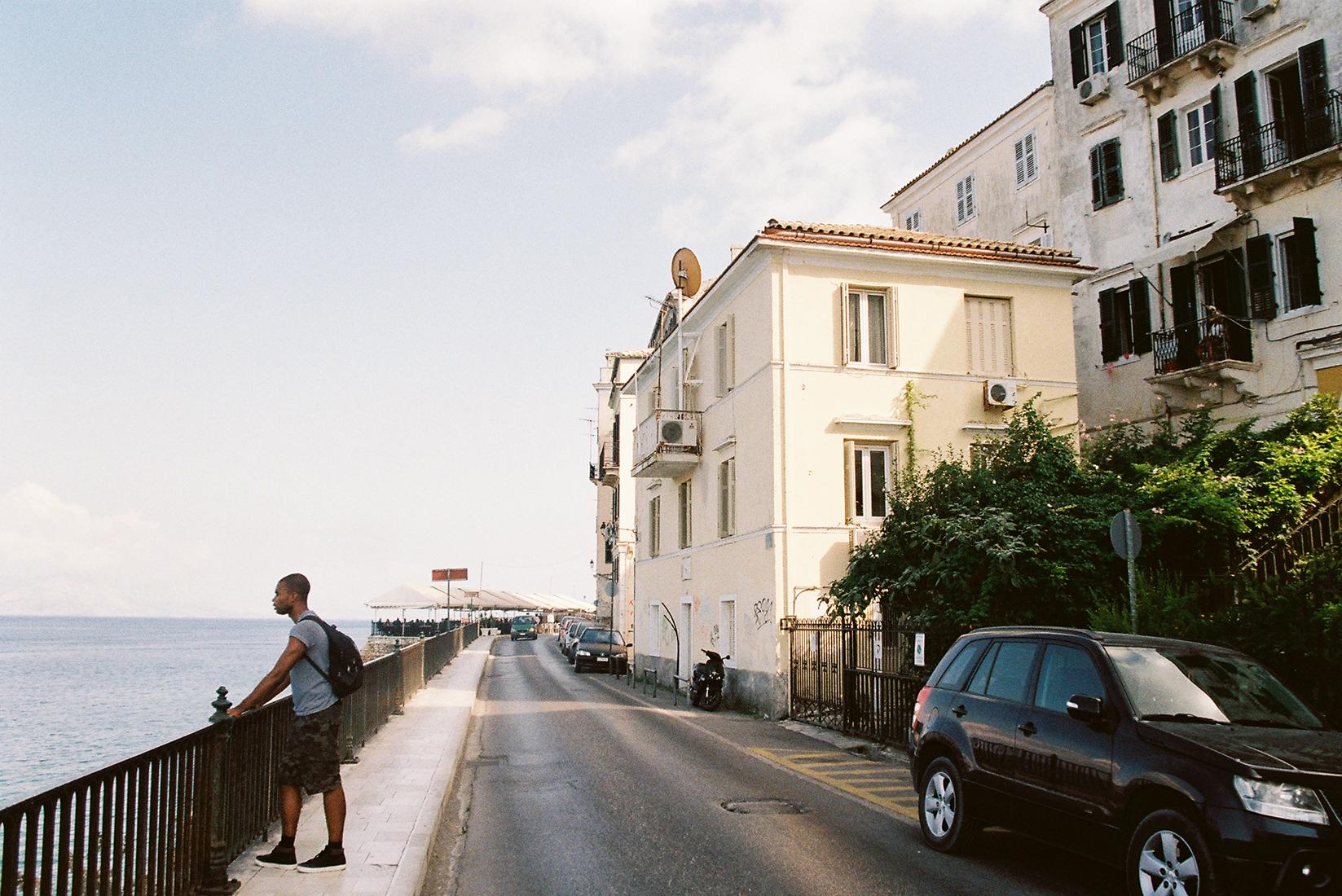 Corfu (Kerkyra) 35mm film travel diary by London photographer Ailera Stone